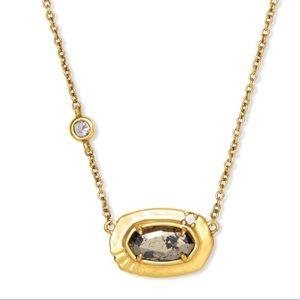 Kendra Scott Anna Vintage Gold Pendant Necklace